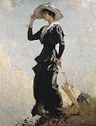 The Hill Top 1914 - Frank Weston Benson