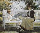 Eleanor and Benny 1916 - Frank Weston Benson