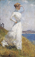 Sunlight - Frank Weston Benson