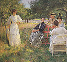 In The Orchard 1891 - Frank Weston Benson
