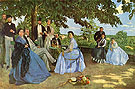 The Family Meeting - Frederic Bazille