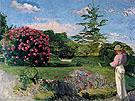 The Little Gardener - Frederic Bazille