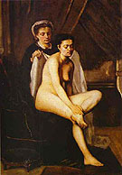 After The Bath - Frederic Bazille