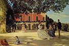 La Terrasse a Meric - Frederic Bazille