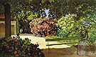 Terrace at Meric - Frederic Bazille