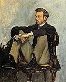 Portrait of Renior 1867 - Frederic Bazille