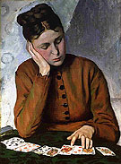 The Fortune Teller 1869 I - Frederic Bazille