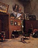 The Studio on The Rue de Furstenberg 1865 - Frederic Bazille