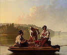 Boatmen on The Missouri 1846 - George Caleb Bingham
