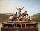 The Jolly Flatboatmen 1846 - George Caleb Bingham