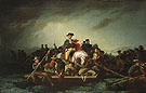 Washington Crossing The Delaware c1856 - George Caleb Bingham