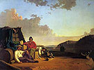 Watching The Cargo 1849 - George Caleb Bingham