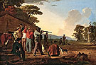 Shooting for The Beef 1850 - George Caleb Bingham