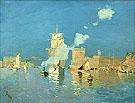 L Entree du Port de Marseilles 1882 - Frank Myers Boggs