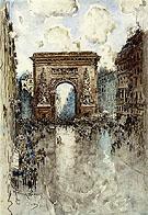 La Porte St Denis Paris - Frank Myers Boggs