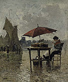 On The Quai Dieppe - Frank Myers Boggs