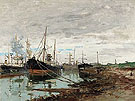 On The Quay 1919 - Frank Myers Boggs