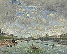 Vue de la Seine Paris - Frank Myers Boggs