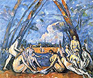 Bathers 1906 - Paul Cezanne