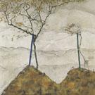 Autumm Sun I Sunrise 1912 - Egon Schiele