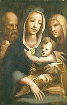 Holy Family with Saint Anne - Domenico Beccafumi