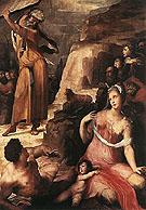Moses and The Golden Calf - Domenico Beccafumi