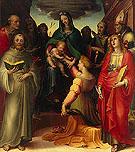 Mystical Marriage of St Catherine - Domenico Beccafumi