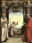 Stigmatization of St Catherine of Siena - Domenico Beccafumi