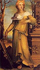 Tanaquil Wife of Lucomo c1520 - Domenico Beccafumi