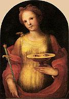 Saint Lucy - Domenico Beccafumi
