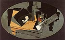 Playing Cards and Siphone 1916 - Juan Gris