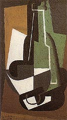 Crarafe and Bowl 1917 - Juan Gris