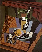 The Packet of Tobacco 1916 - Juan Gris