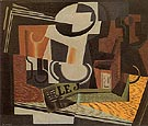 Still Life with Fruit Dish 1918 - Juan Gris