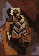 Seated Peasant Woman 1918 - Juan Gris