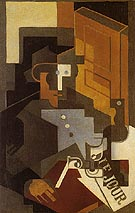 The Man from The Touraine 1918 - Juan Gris
