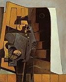 The Peasant in a Blue Smock The Miller 1918 - Juan Gris