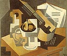 Guitar and Fruit Dish 1918 - Juan Gris