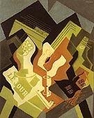 Guitar and Fruit Dish 1919 - Juan Gris