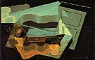 The View Across The Bay 1921 - Juan Gris