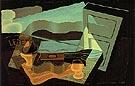 The View Across The Bay 1921 - Juan Gris