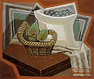 The Basket of Pears 1925 - Juan Gris