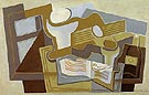 Guitar and Fruit Dish 1921 - Juan Gris