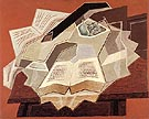 The Open Book 1925 - Juan Gris