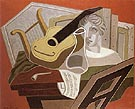 The Musicians Table 1926 - Juan Gris