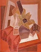 The Flower on The Table 1925 - Juan Gris
