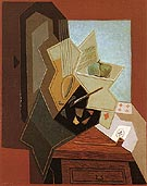 The Painters Window 1925 - Juan Gris