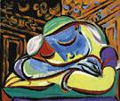 Jeune Fille Endormie - Pablo Picasso