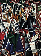 The Traveler 1915 - Lyubov Popova