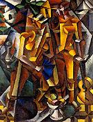 Two Figures 1913 - Lyubov Popova
